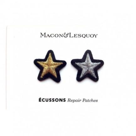 """Ecussons """"couple étoile"""""""