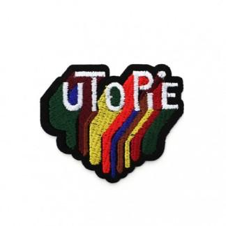 """Ecusson """"Utopie"""""""